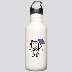 Girl & Color Guard Stainless Water Bottle 1.0L