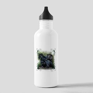 Black Jaguar Stainless Water Bottle 1.0L