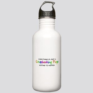 Scrapbooking Stainless Water Bottle 1.0L