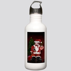Zombie Santa Stainless Water Bottle 1.0L