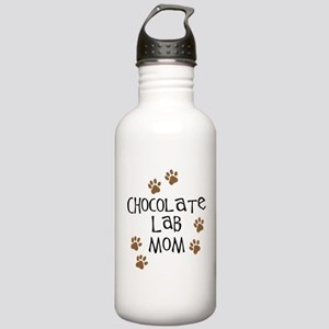 Chocolate Lab Mom Stainless Water Bottle 1.0L