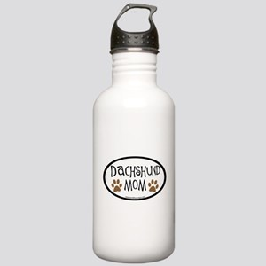 Dachshund Mom Oval Stainless Water Bottle 1.0L