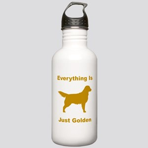 Just Golden Stainless Water Bottle 1.0L