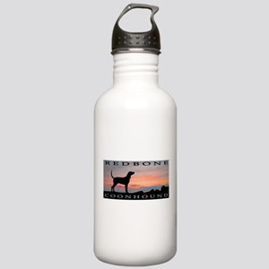 Redbone Coonhound Sunset Stainless Water Bottle 1.