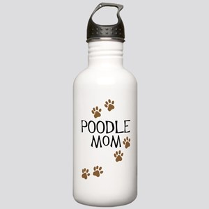 Poodle Mom Stainless Water Bottle 1.0L