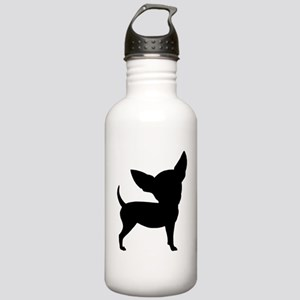 Funny Cute Chihuahua Stainless Water Bottle 1.0L