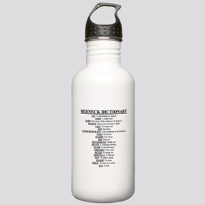 Redneck Dictionary Stainless Water Bottle 1.0L