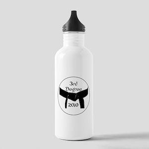 3rd Degree Black Belt Stainless Water Bottle 1.0L