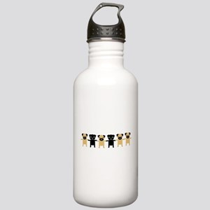 StringOPugs Stainless Water Bottle 1.0L