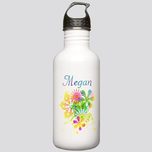 Megan - Floral Girl's Water Bottle 1.0L Stainless