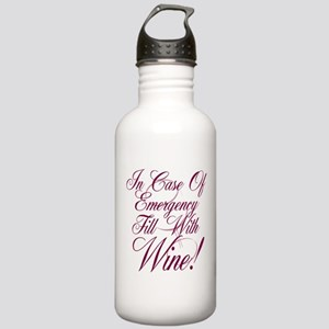 Wine Lovers Stainless Water Bottle 1.0L