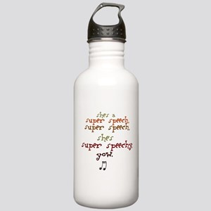 SUPER SPEECHY Stainless Water Bottle 1.0L