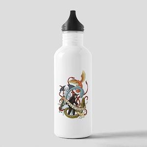 I Heart Cryptozoology Stainless Water Bottle 1.0L