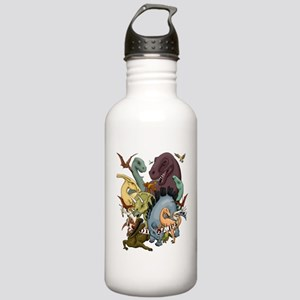 I Heart Dinosaurs Stainless Water Bottle 1.0L