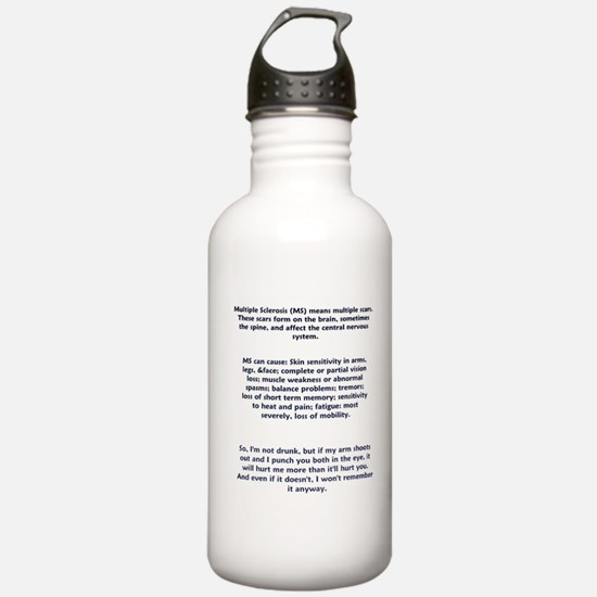Cute Ms Sports Water Bottle