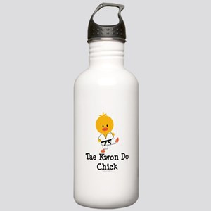 Tae Kwon Do Chick Stainless Water Bottle 1.0L