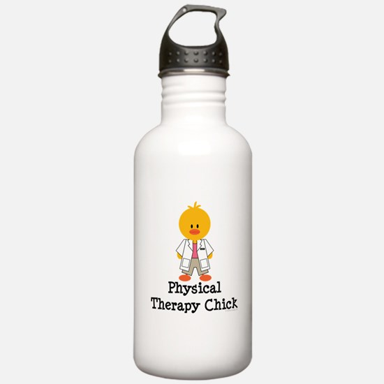 Physical Therapy Chick Water Bottle