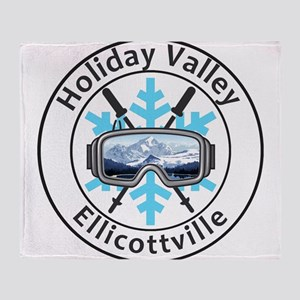 Holiday Valley - Ellicottville - N Throw Blanket