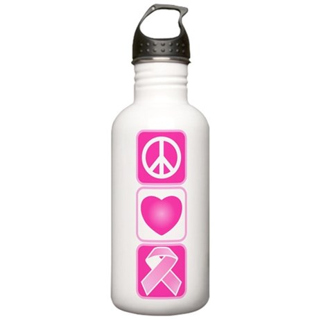 Peace, Love, Hope Stainless Water Bottle 1.0L