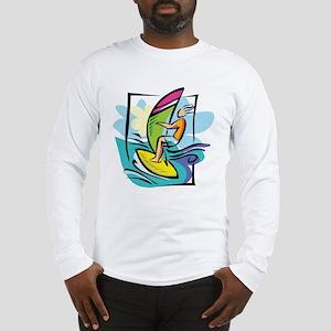 Windsurfing Long Sleeve T-Shirt