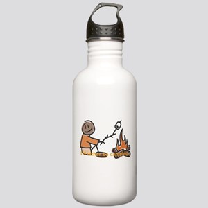 Campfire Rather be camping Stainless Water Bottle