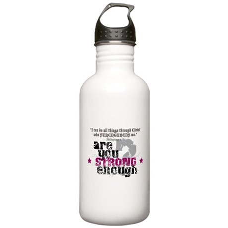 Philippians 4:13 Stainless Water Bottle 1.0L