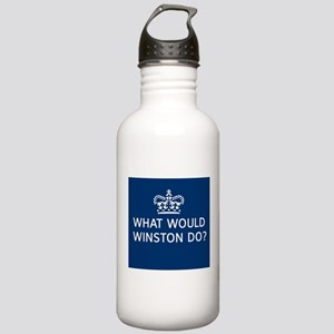 What Would Winston Do? Stainless Water Bottle 1.0L