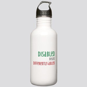 Disabled = Differently-abled Water Bottle 1.0 Stai