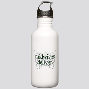 Midwives Deliver - Stainless Water Bottle 1.0L