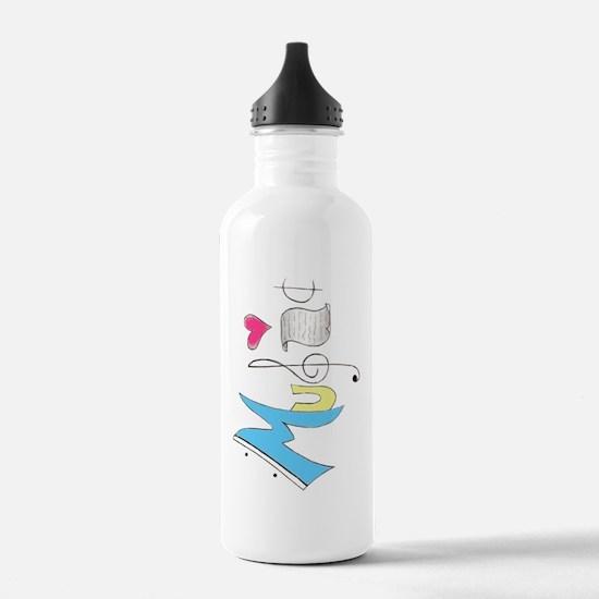 Music Water Bottle