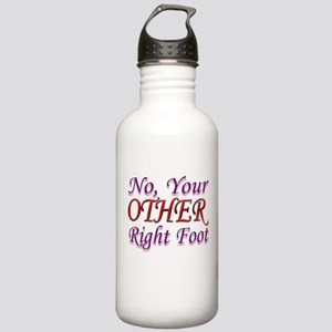 No, Your OTHER Right Foot Stainless Water Bottle 1