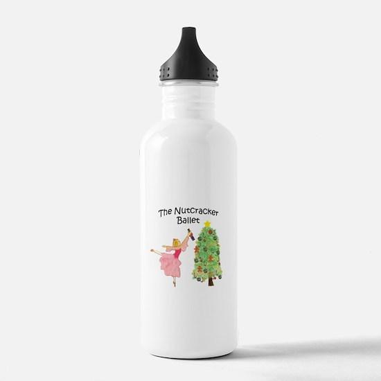 magical clara,nutcracker Water Bottle