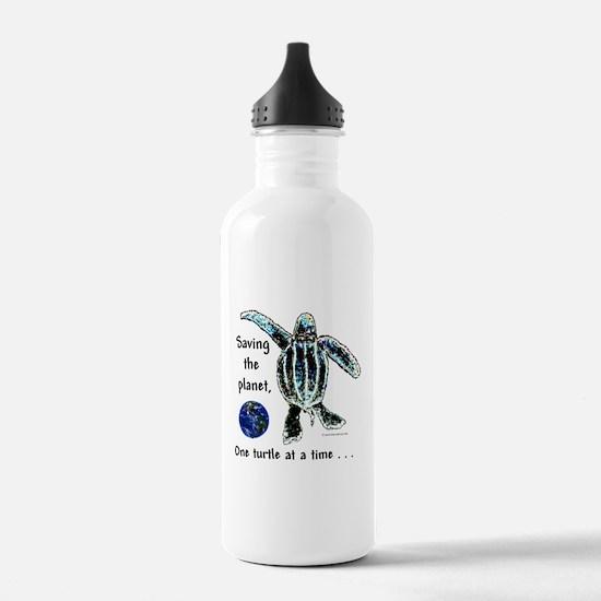 Unique Green art Water Bottle