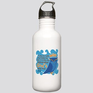 Cute Owl Stainless Water Bottle 1.0L