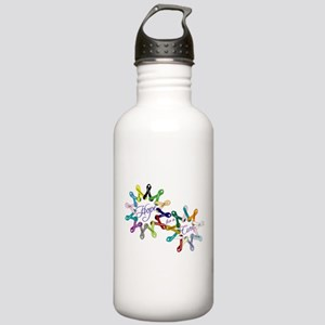 Hope For A Cure Stainless Water Bottle 1.0L