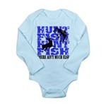 Hunt Fish Long Sleeve Infant Bodysuit