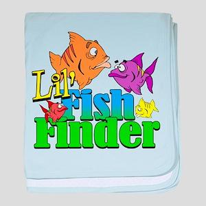Lil' Fish Finder Infant Blanket