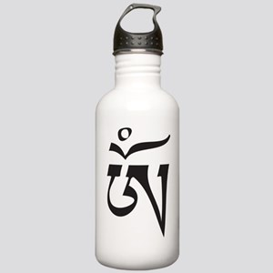 Tibetan OM Stainless Water Bottle 1.0L