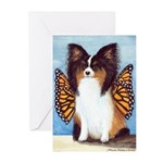 Butterfly Dog Greeting Cards (Pk of 10)