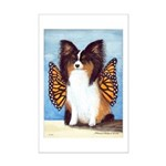 Butterfly Dog Mini Poster Print