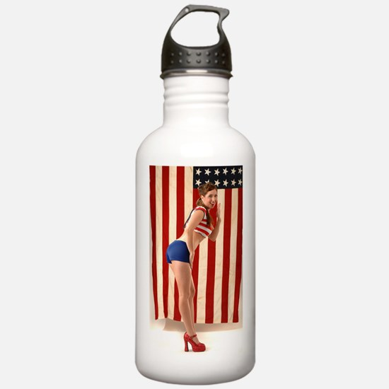 All American Girl Water Bottle