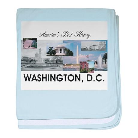 Washington Americasbesthistory.com baby blanket