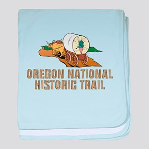 ABH Oregon National Historic Trail baby blanket