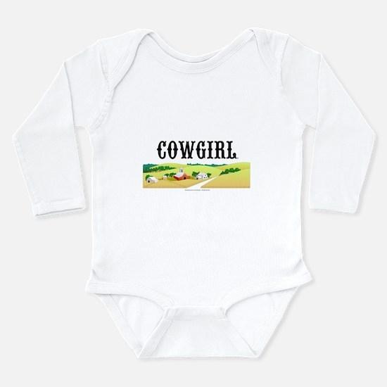 Cowgirl Long Sleeve Infant Bodysuit