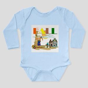 Fall Slogan Long Sleeve Infant Bodysuit