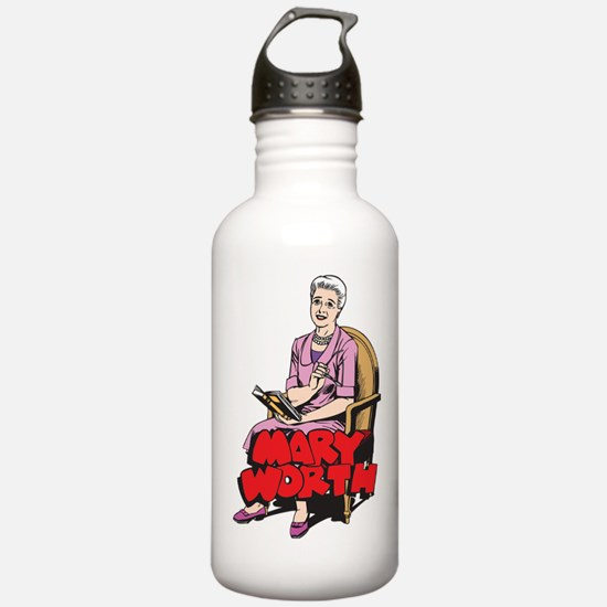 Mary Reading Water Bottle