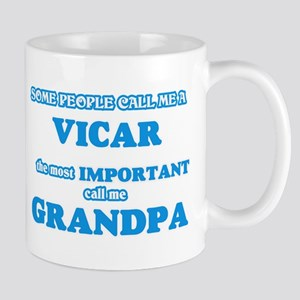 Some call me a Vicar, the most important call Mugs