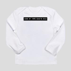 Breastfed Label - Long Sleeve Infant T-Shirt