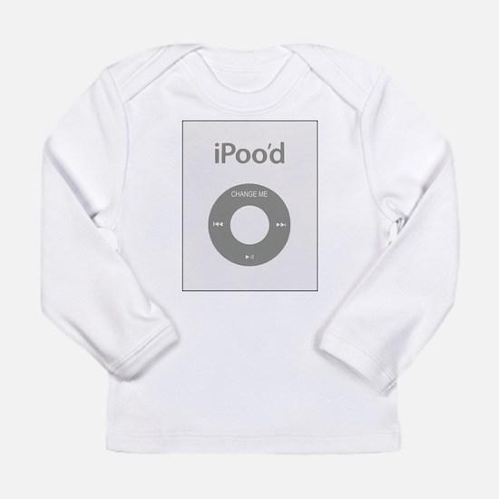 I-Poo'd Long Sleeve Infant T-Shirt