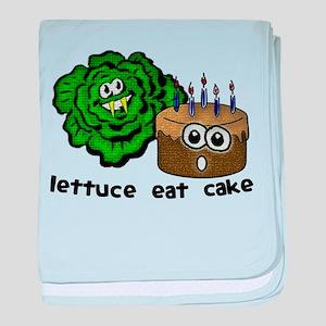Lettuce Eat Cake - Infant Blanket